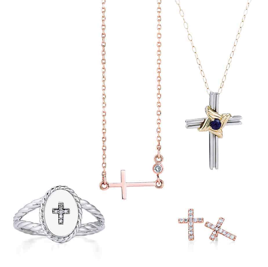 Religious Necklaces, Rings, and Earrings