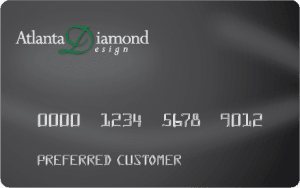 Atlanta Diamond Design Credit Card