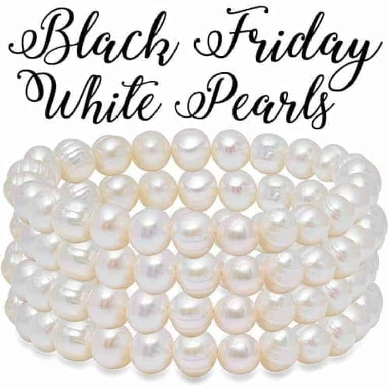 Free White Pearls for Black Friday